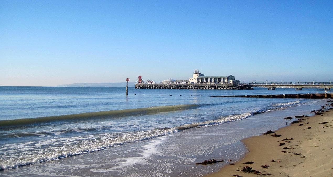 Bournemouth – Strandurlaub made in England