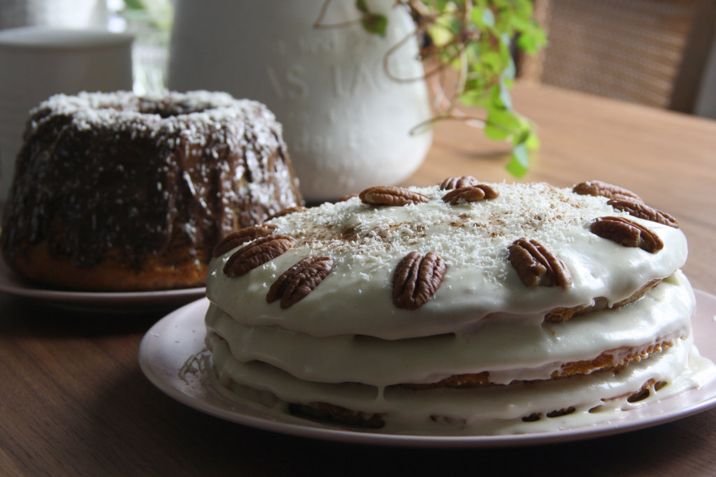 Hummingbird Cake vegan interpretiert