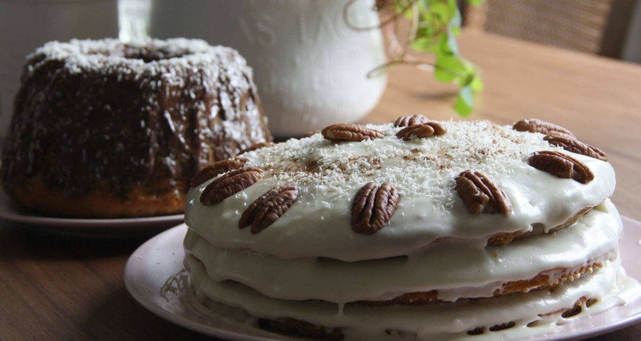 Rezept für Hummingbird Cake (vegan)