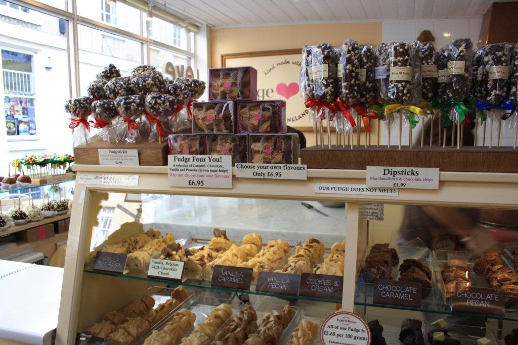 San Francisco Fudge Factory in Bath