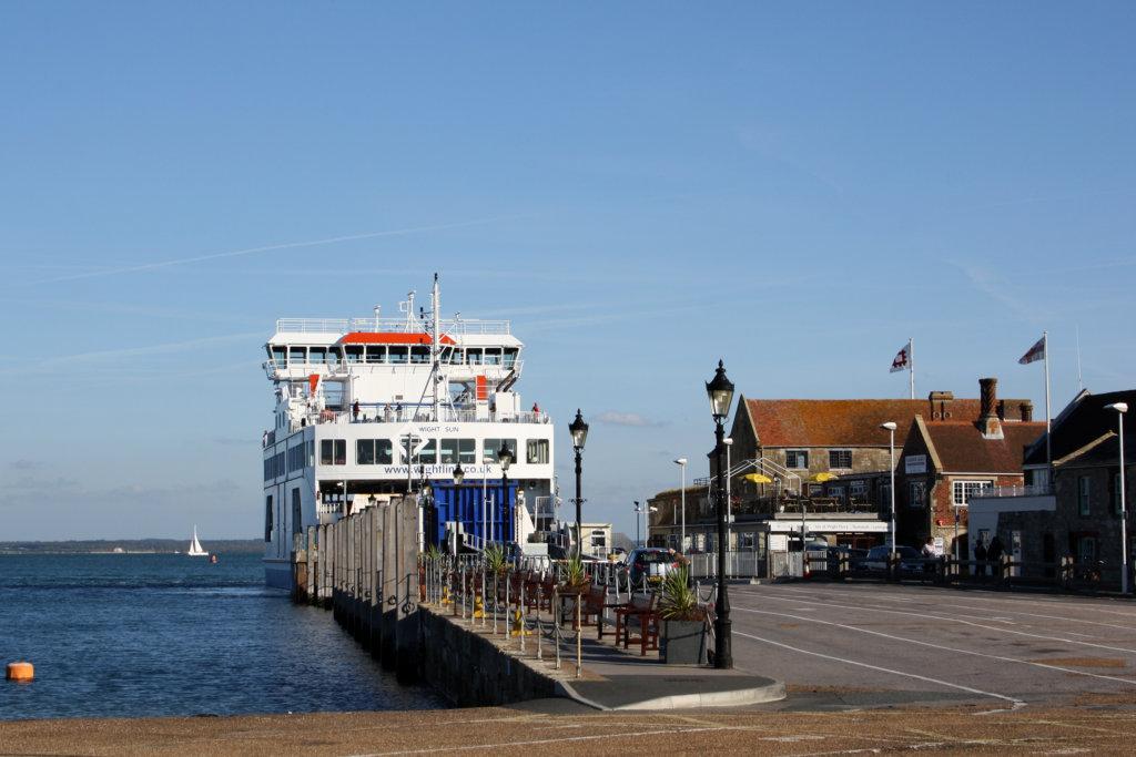 Im Hafen von Yarmouth