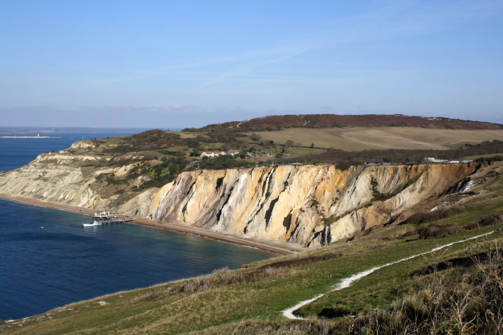 Küstenwanderung auf der Isle of Wight